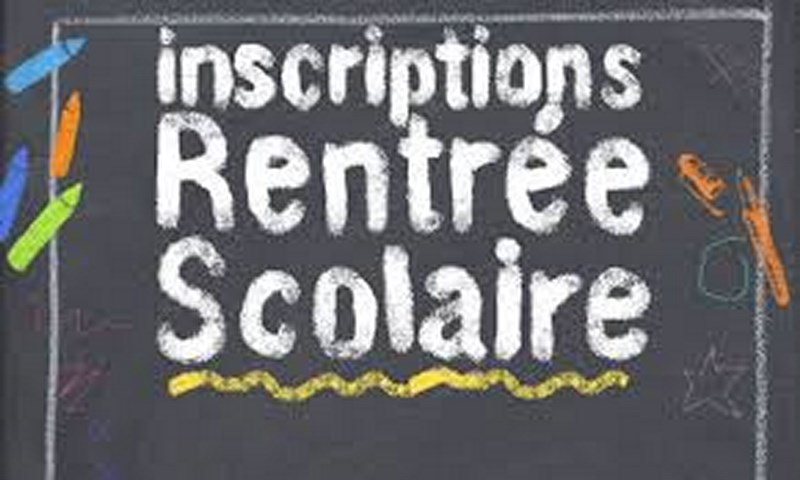logo inscriptions ecole